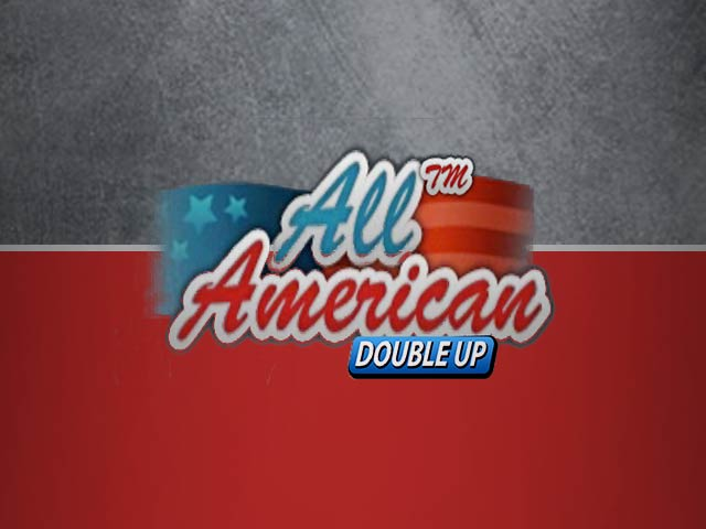 Videopokker All American Double Up