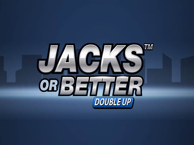 Videopokker Jacks or Better Double Up